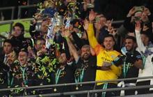 Man City lập hat-trick vô địch League Cup, Pep tiến sát kỷ lục