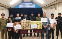 4 đối tượng đi trên 2 xe bán tải vận chuyển 60 kg ma túy đá, 240.000 viên hồng phiến