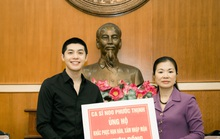 Noo Phước Thịnh đóng góp chống Covid-19, hạn mặn và kêu gọi người hâm mộ chung tay