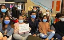 Gần 40 du học sinh Việt bị kẹt tại sân bay ở Mỹ