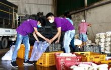 Đà Lạt tặng gần 4 tấn rau củ cho Ninh Thuận chống dịch Covid-19