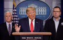 Hơi khó chịu với Trung Quốc, Tổng thống Trump tăng tốc chống Covid-19