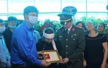 Thăng hàm đại úy cho sĩ quan công an hy sinh khi truy bắt tội phạm ma túy