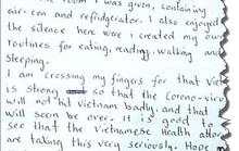 Bức thư cảm ơn của một người Na Uy bị cách ly vì Covid-19