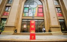 CLIP: Cận cảnh toà nhà Tân Hoàng Minh có ca bệnh Covid-19 bị cách ly