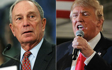 Michael Bloomberg giàu gấp 17 lần ông Donald Trump
