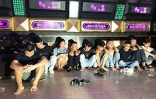 10 thanh niên nam, nữ tổ chức đại tiệc sinh nhật bằng ma túy trong quán karaoke