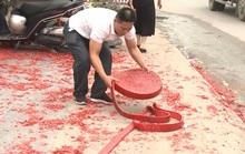Khởi tố vụ án đốt pháo trong đám cưới tại Sóc Sơn
