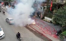 Khởi tố vụ đốt pháo ở Sóc Sơn