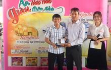 Trao giải thưởng đợt 3 của chương trình Ăn Hảo Hảo, giàu điên đảo