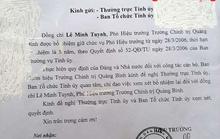Bỏ quên bổ nhiệm 9 năm, phó hiệu trưởng trường Chính trị Quảng Bình vẫn hưởng lương như... bình thường