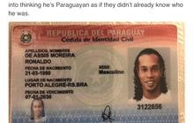 Ronaldinho bị bắt ở Paraguay vì dùng hộ chiếu giả