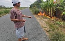 CLIP: Truy tìm kẻ gian đổ chất thải lạ, đốt là cháy