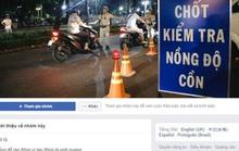 Lập nhóm Facebook Thông chốt, báo chốt để né CSGT