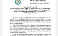 Kon Tum cách ly 2 trường hợp tiếp xúc gần với người mắc Covid-19 ở Đà Nẵng