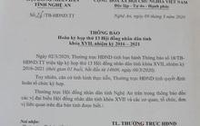 Dịch Covid-19 diễn biến phức tạp, Nghệ An hoãn kỳ họp bất thường HĐND tỉnh