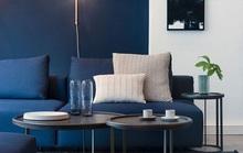 Màu sơn xanh navy đem lại cảm giác thư thái nhất cho gia chủ
