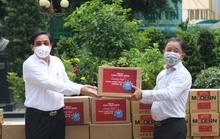 Báo Người Lao Động cùng cộng đồng chung tay phòng chống dịch Covid-19