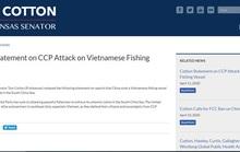 Thượng nghị sĩ Mỹ lên án tàu hải cảnh Trung Quốc đâm chìm tàu cá Việt Nam