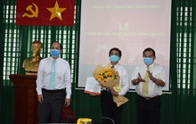 Phó Chánh Văn phòng UBND TP HCM giữ chức Phó Bí thư Đảng ủy Sở LĐ-TB-XH TP