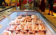 Siêu thị tung thịt heo nhập khẩu giá rẻ để bình ổn thị trường