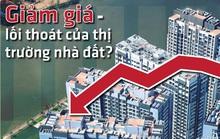 Giảm giá - lối thoát của thị trường nhà đất?