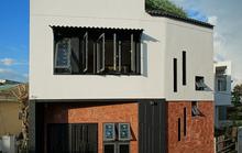 Ngôi nhà vuông vắn trên mảnh đất 60 m2 bất cân xứng