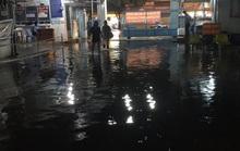 TP HCM: Sau cơn mưa, bác sĩ vừa lội nước vừa cấp cứu cho người bệnh