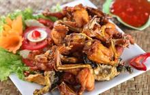 Hướng dẫn cách làm món ếch nướng  muối ớt đậm đà dân dã