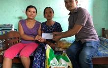 ATM thực phẩm miễn phí tặng quà gia đình anh Duy ve chai