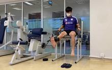 Sau Xuân Trường, Huy Hùng, đến lượt Duy Mạnh bắt đầu tập hồi phục ở lò PVF