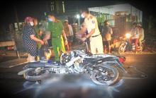 2 xe máy đối đầu, 4 người thương vong