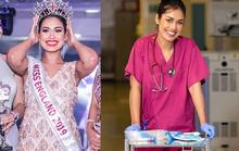 Hoa hậu Anh ra tiền tuyến chống đại dịch Covid-19