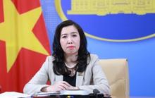 Người phát ngôn Bộ Ngoại giao trả lời câu hỏi khả năng kiện Trung Quốc về vấn đề Biển Đông