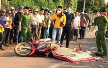 Bị tai nạn ngã xuống đường, xe sau cán phải, 2 người đi xe máy chết tại chỗ