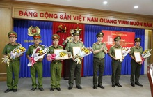 Công an Bình Dương điều chuyển, bổ nhiệm 10 trưởng, phó phòng
