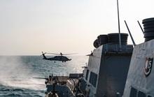 Tàu chiến Mỹ qua eo biển Đài Loan, hoạt động mạnh trên Thái Bình Dương