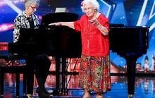 Cụ bà 96 tuổi vẫn thi Tìm kiếm tài năng Anh
