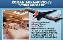 Ngắm cung điện bay 80 triệu USD của tỉ phú Abramovich
