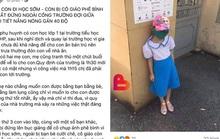 Vụ học sinh đứng ngoài cổng trường: Xuất hiện clip phụ huynh tự dàn dựng?