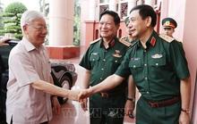 Chùm ảnh Tổng Bí thư, Chủ tịch nước Nguyễn Phú Trọng chủ trì Hội nghị Quân ủy Trung ương