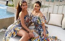 Tiên Nguyễn và mẹ khoe sắc vóc trong loạt váy áo hàng hiệu đắt đỏ