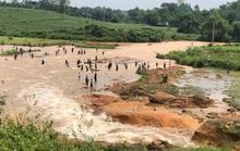 Vỡ đập Đầm Thìn chứa khoảng 600 ngàn m3 nước