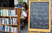 Quán cà phê trả tiền bằng sách