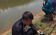 Đang câu cá, một thanh niên rơi xuống kênh mất tích