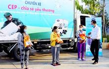 CEP Vĩnh Long: Trao gần 550 phần quà cho công nhân, lao động nghèo