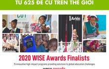 Học viện sáng tạo Arkki lọt vào top 15 Giải thưởng Giáo dục toàn cầu WISE 2020