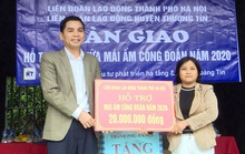 Hà Nội: Vận động ủng hộ Quỹ Xã hội Công đoàn