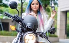 Hoa hậu H'Hen Niê mua mô tô luyện lái để đóng phim