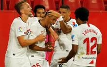 Ronaldo Argentina lập công, Sevilla thắng tưng bừng ngày La Liga trở lại
